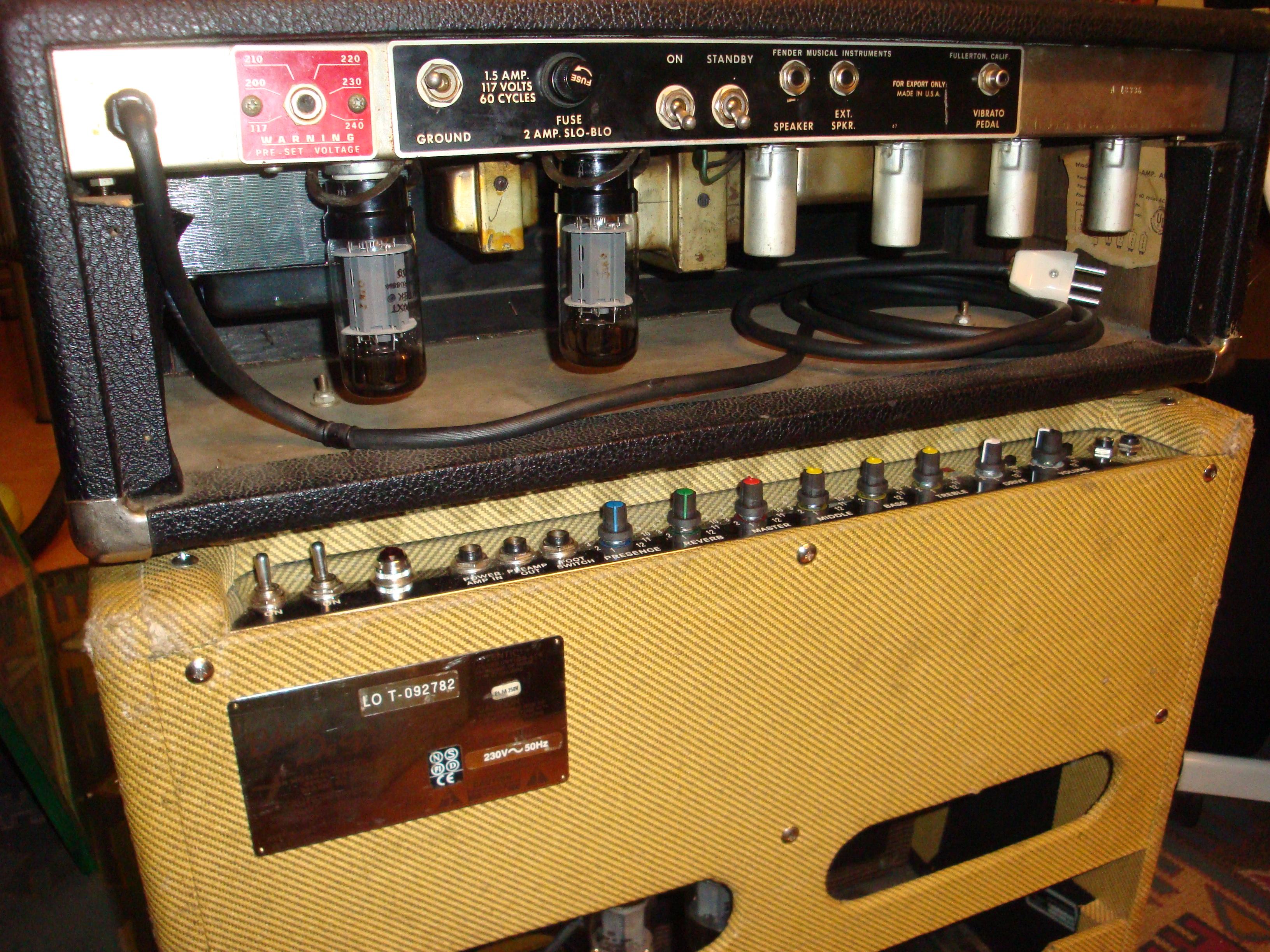 Reparation Et Modification D Amplis A Lampe Et Materiel De Son